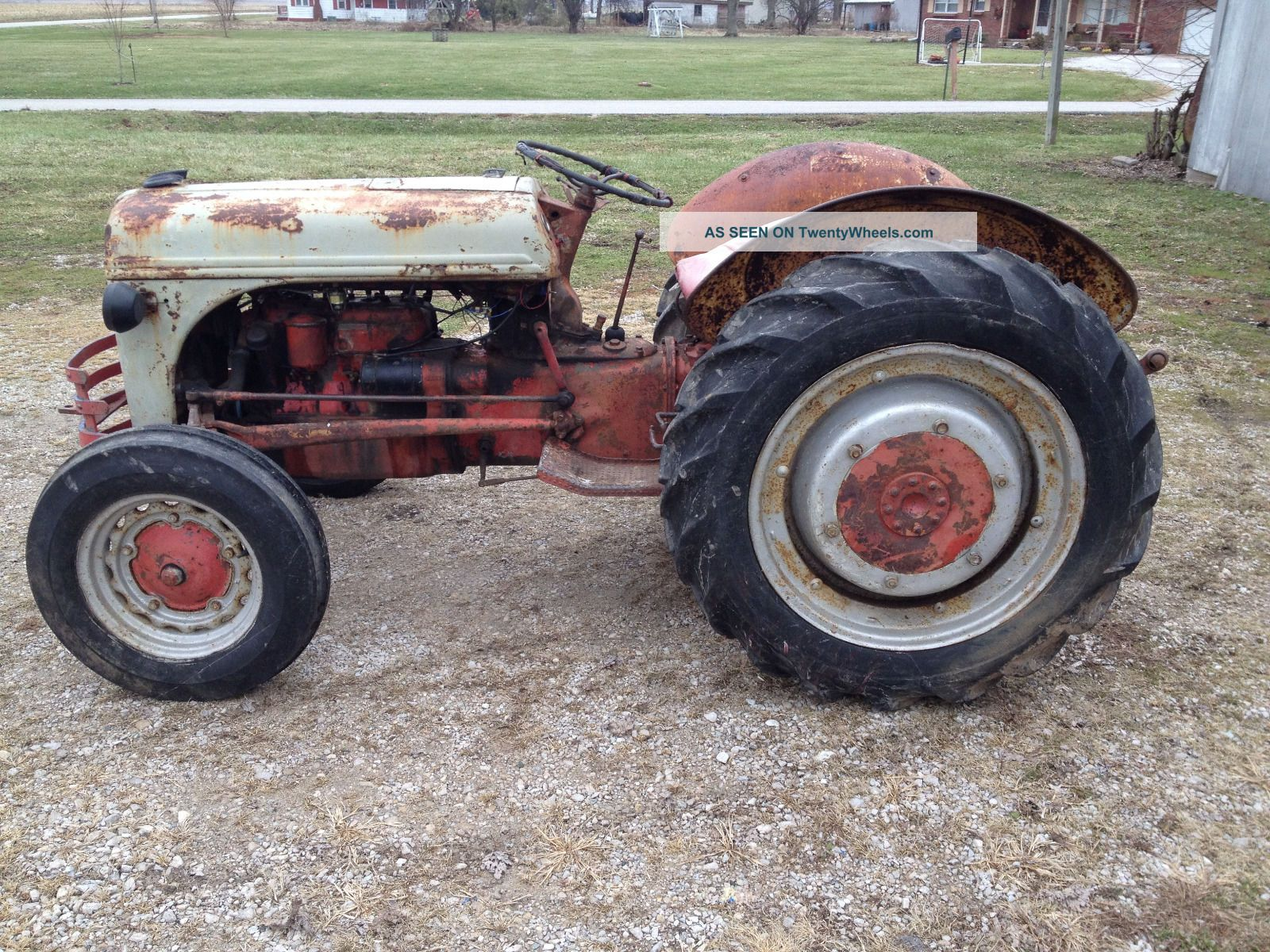 2n Ford Tractor Rims Used : Ford n tractor for sale