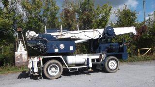 Little Giant Crane And Shovel 7.  5mt 15,  000 Lbs Truck Crane Cummins Grapple photo