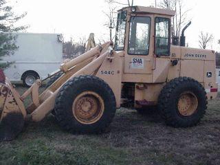 John Deere 544c Wheel Loader photo