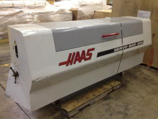 1999 Haas Servo 300 Barfeeder Barloader For Cnc Turning Centers Or Lathe photo