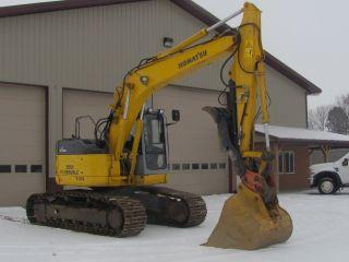 2005 Komatsu Pc158uslc - 2 Excavator photo