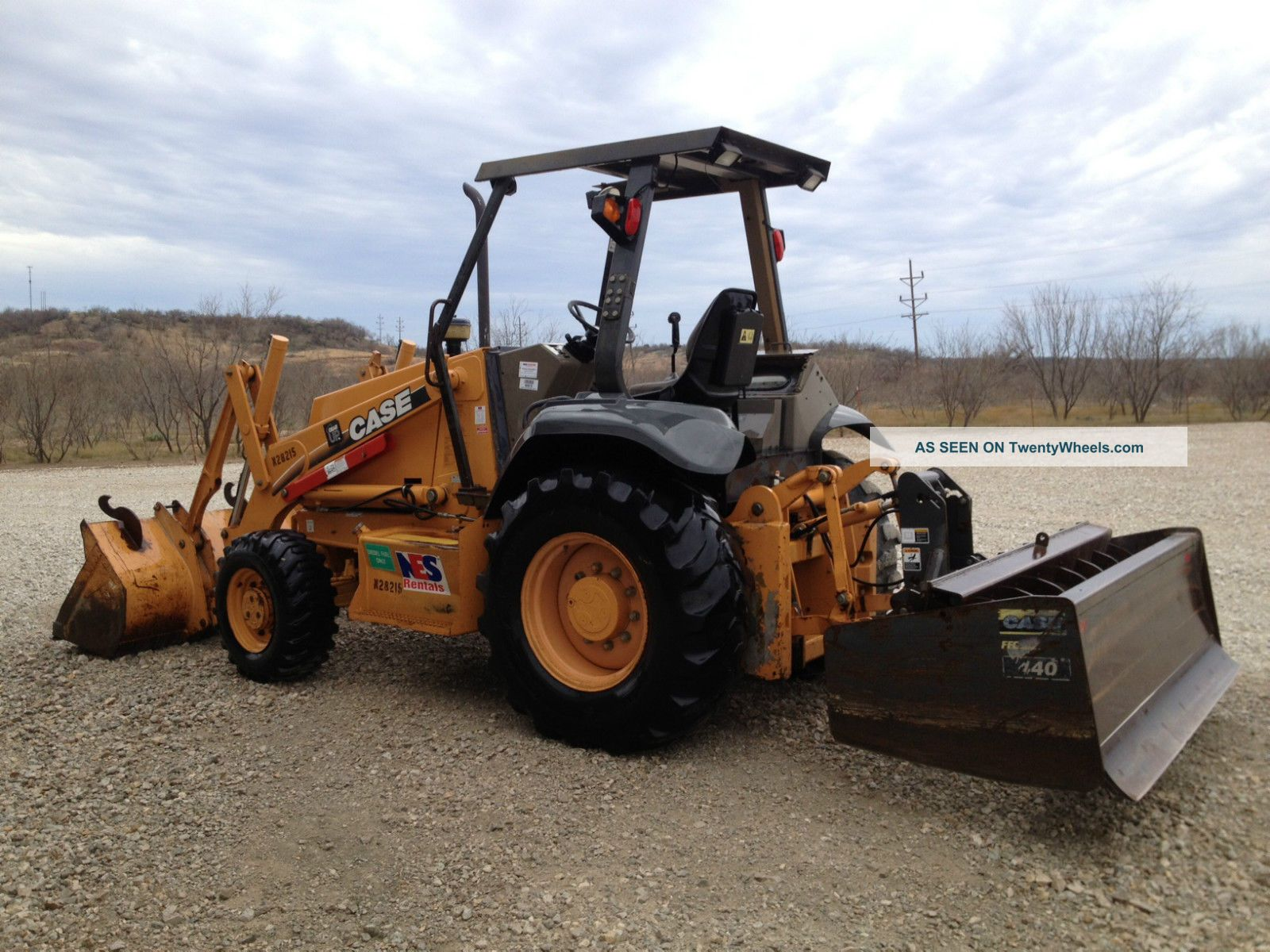 2005 Case 570m Xt Skip Loader - Landscape Tractor - 4x4 - Hydraulic ...