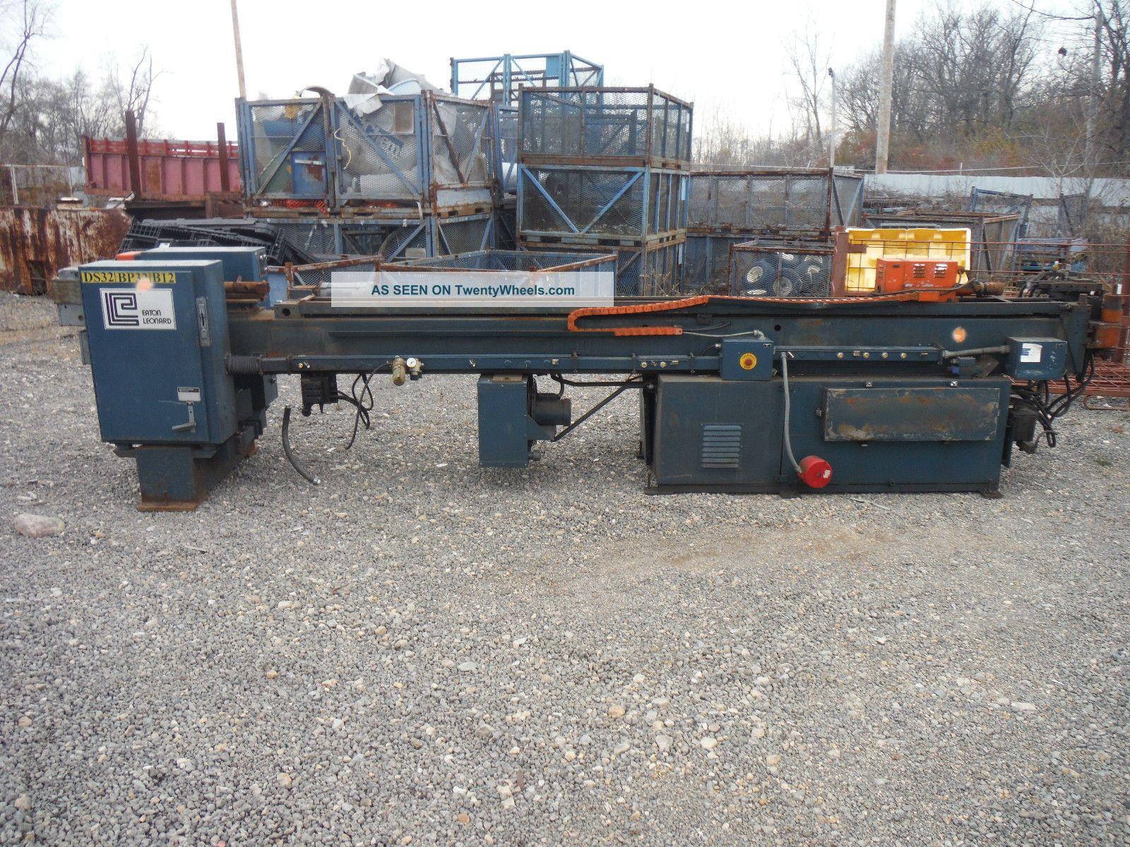 Large Eaton Leonard Tubing Bender Metal Bending Machines photo