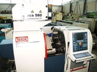 Traub Tnl - 26 - 13 Axis Cnc Swiss - Type Lathe - 2001 photo