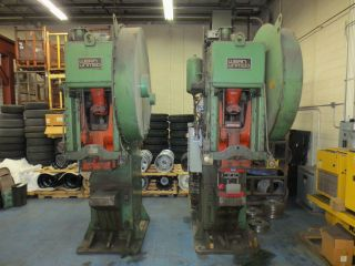 Two (2) 110 - Ton Obi Presses (wean - United) - Good photo