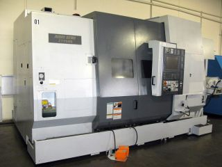 2004 Mori - Seiki Zt - 2500 Y Twin Spindle,  Live Milling,  10