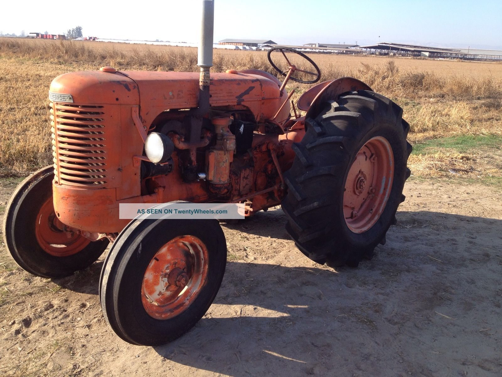 Old Case Tractor : Old case tractors antique for sale