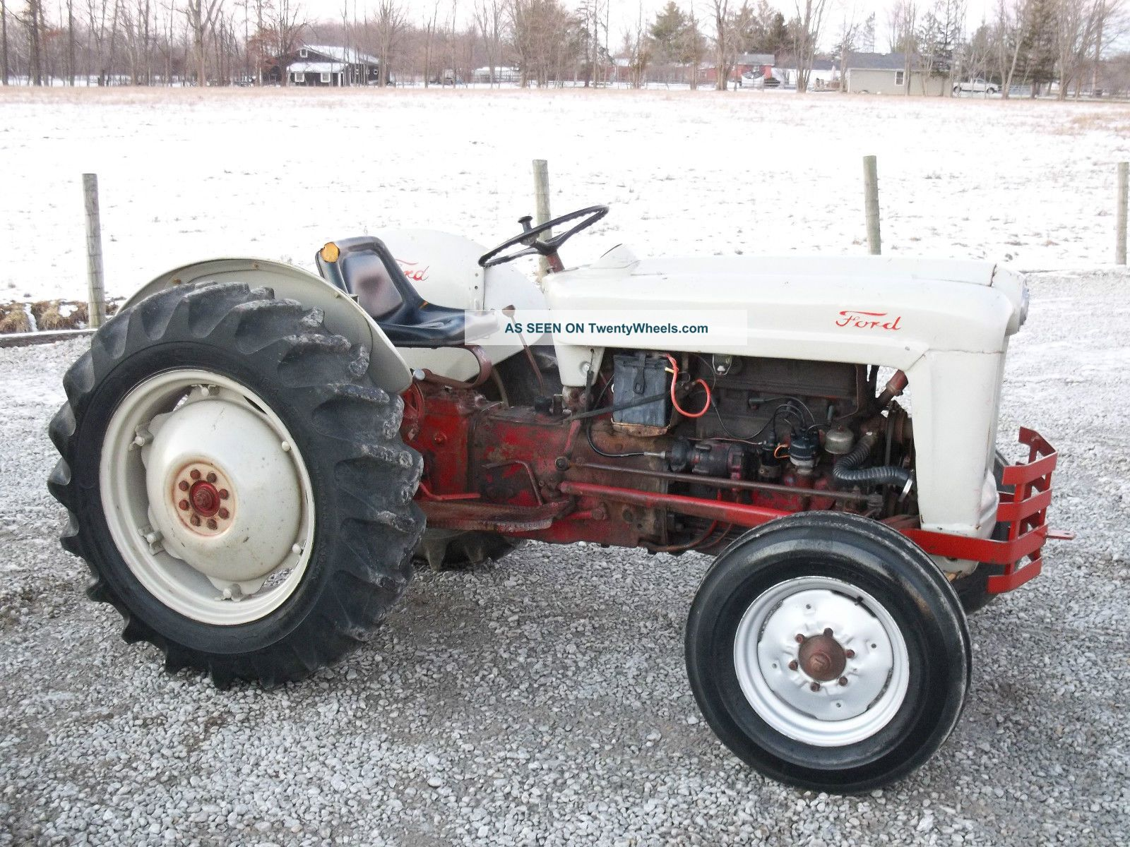 Ford 8n Tractor Dimensions : Ford n tractor specifications ehow how to