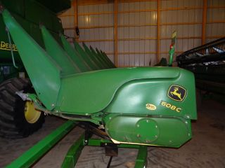 2012,  John Deere,  608c,  8x30 Corn Head,  Low Acres photo