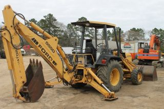 1995 Ford 555 Backhoe photo