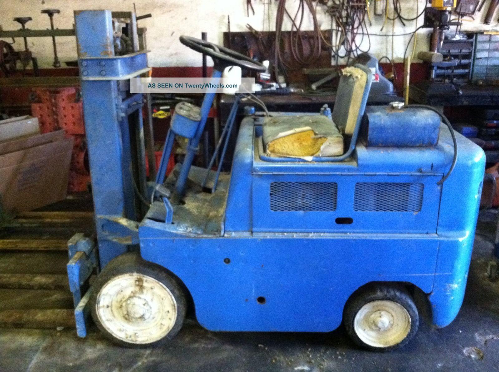 1950s Clark Forklift/carloader