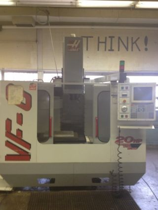 99 Haas Vf - 0 Cnc Vertical Machining Center 20x16 Mill Ct40 Milling Machine 20hp photo