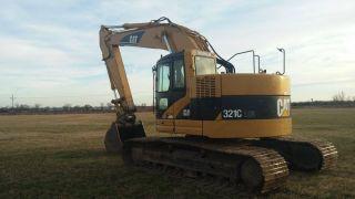 321c Lcr Cat Excavator photo