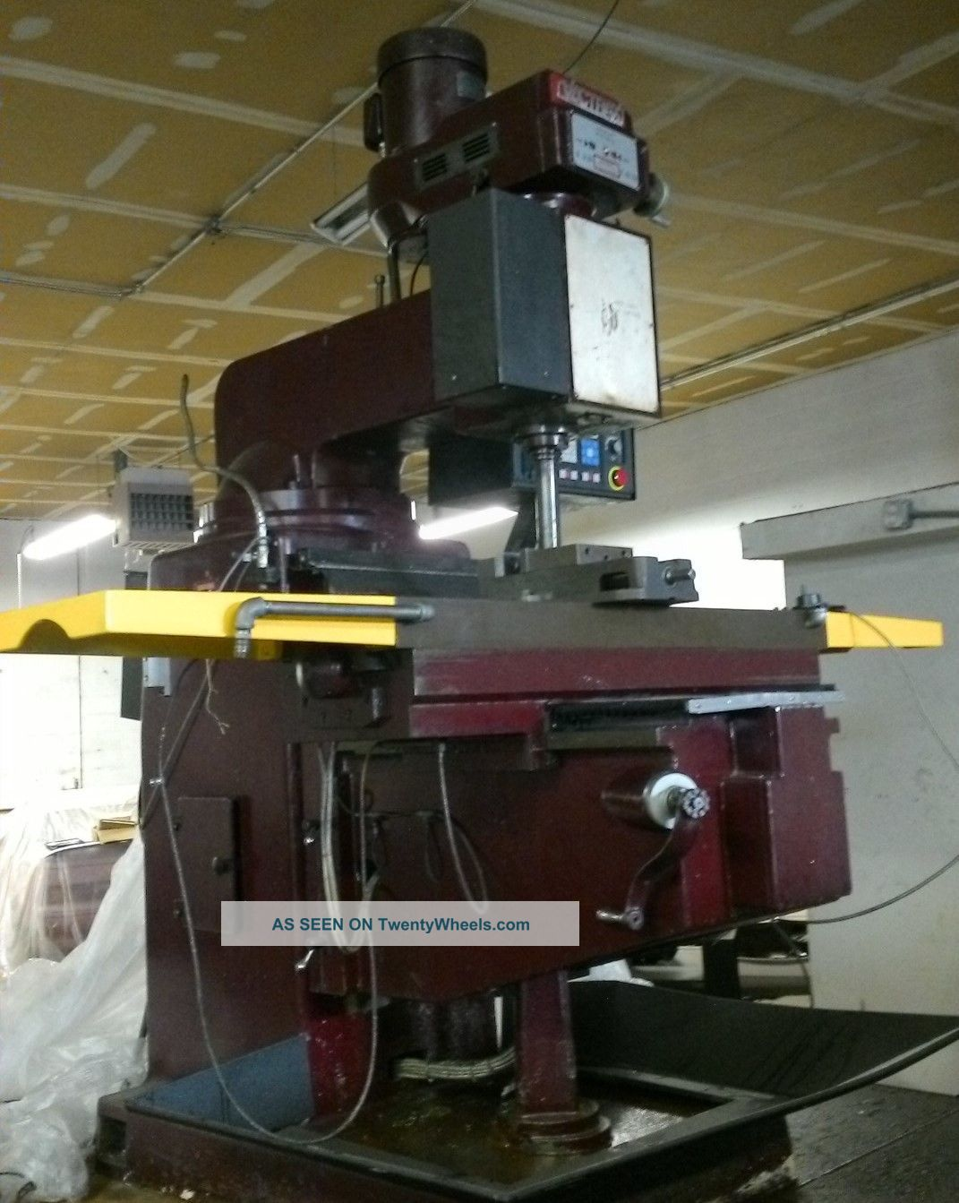 vectrax milling machine