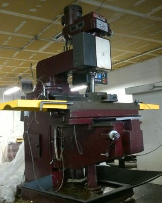 Vectrax Cnc Milling Machine With Fanuc Om Control photo