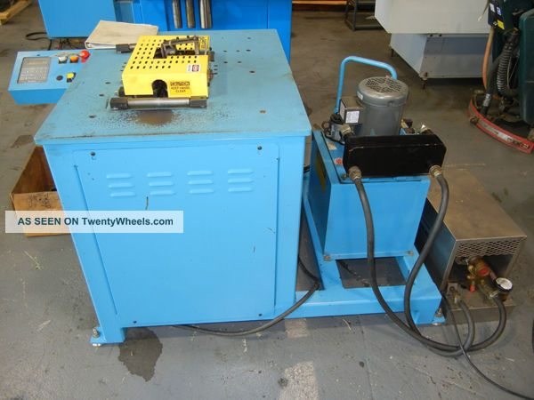 Winton Tr40 2 Axis Cnc Roll Bender Tube Bender 1.  5