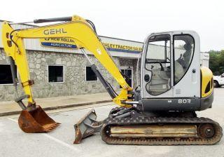 2006 Gehl 803 Excavator - 2325 Hours – Consignment C300690,  S/n Ad05062 photo