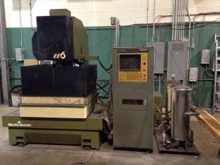 Makino Ee6 Wire Edm Machine photo