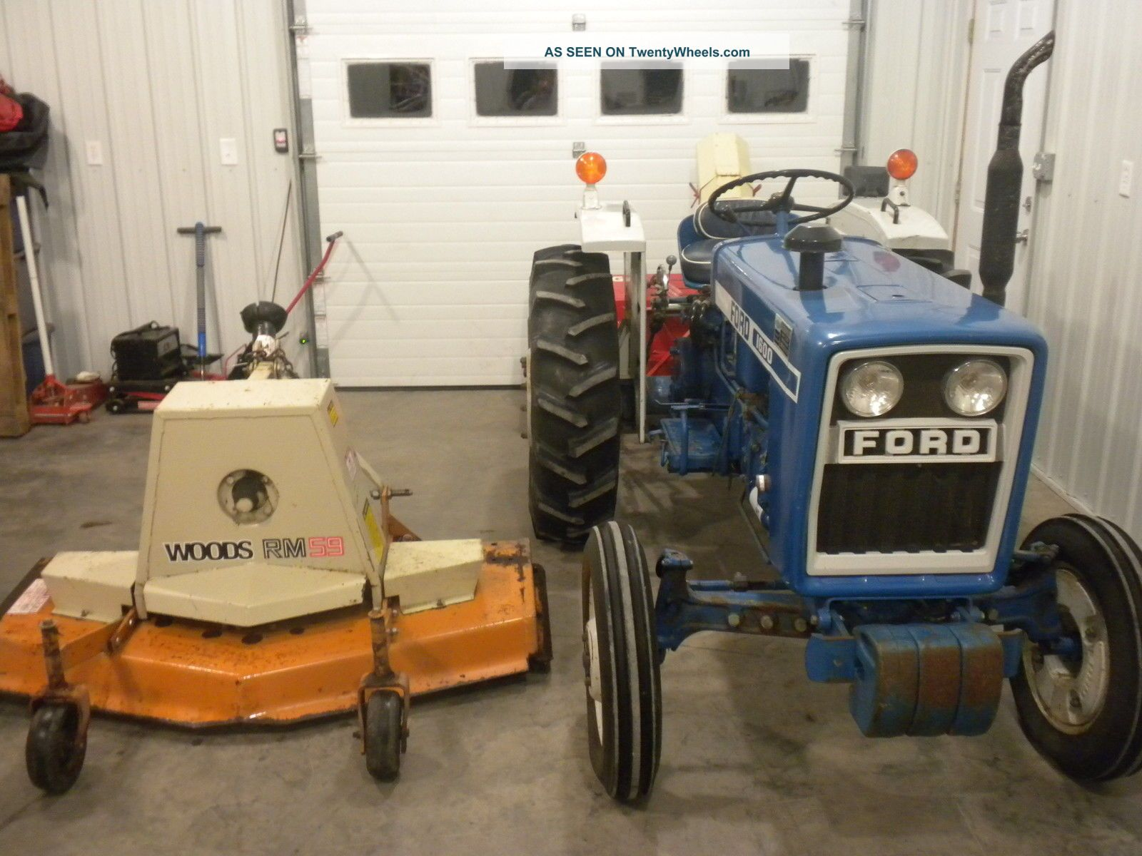 Ford Snow Thrower Parts : Ford hp snowblower