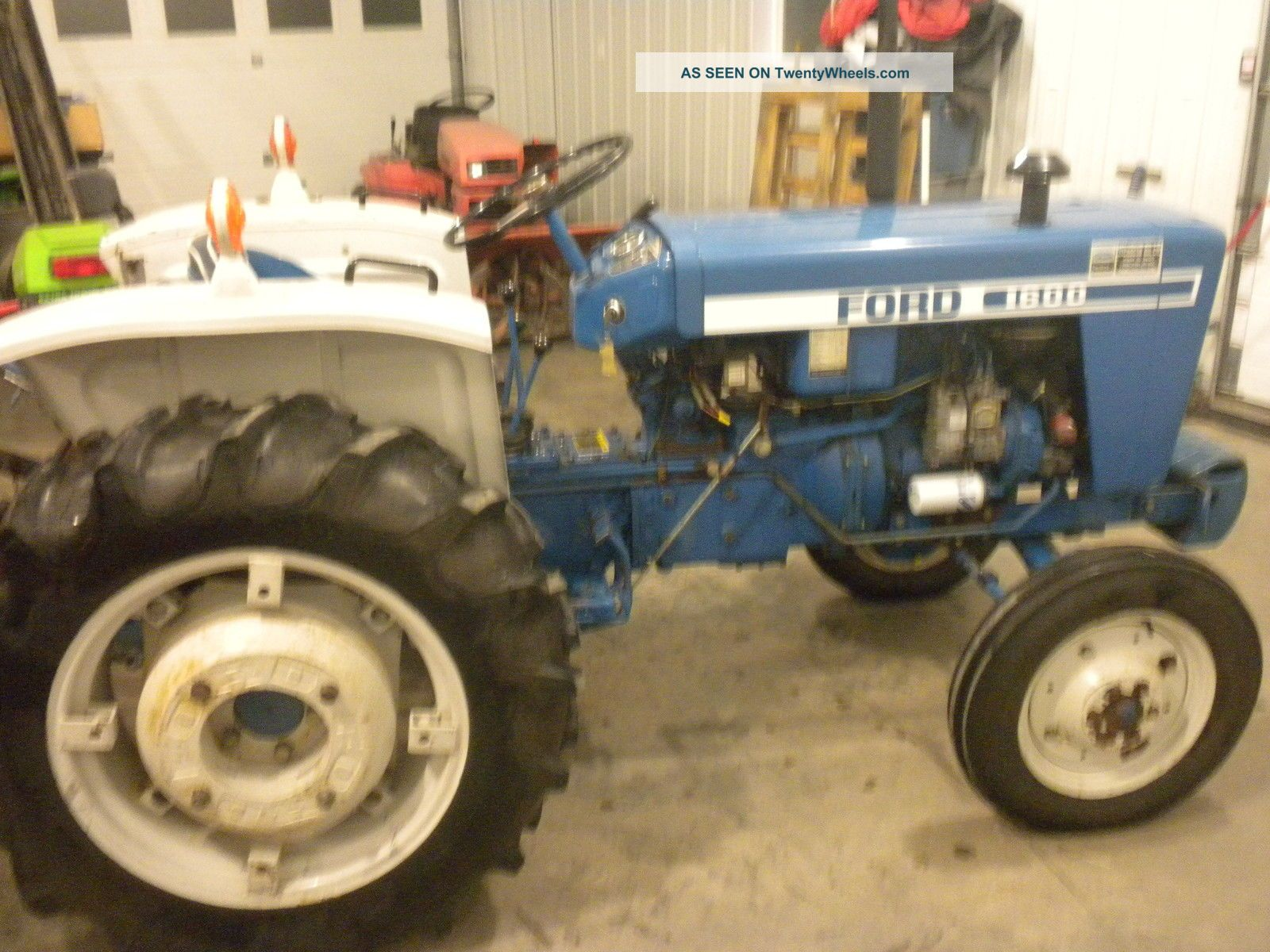 Ford Tractor With Ft Farm King Snow Blower And Ft Woods Lawn Mower Lgw on Ford 1220 Tractor