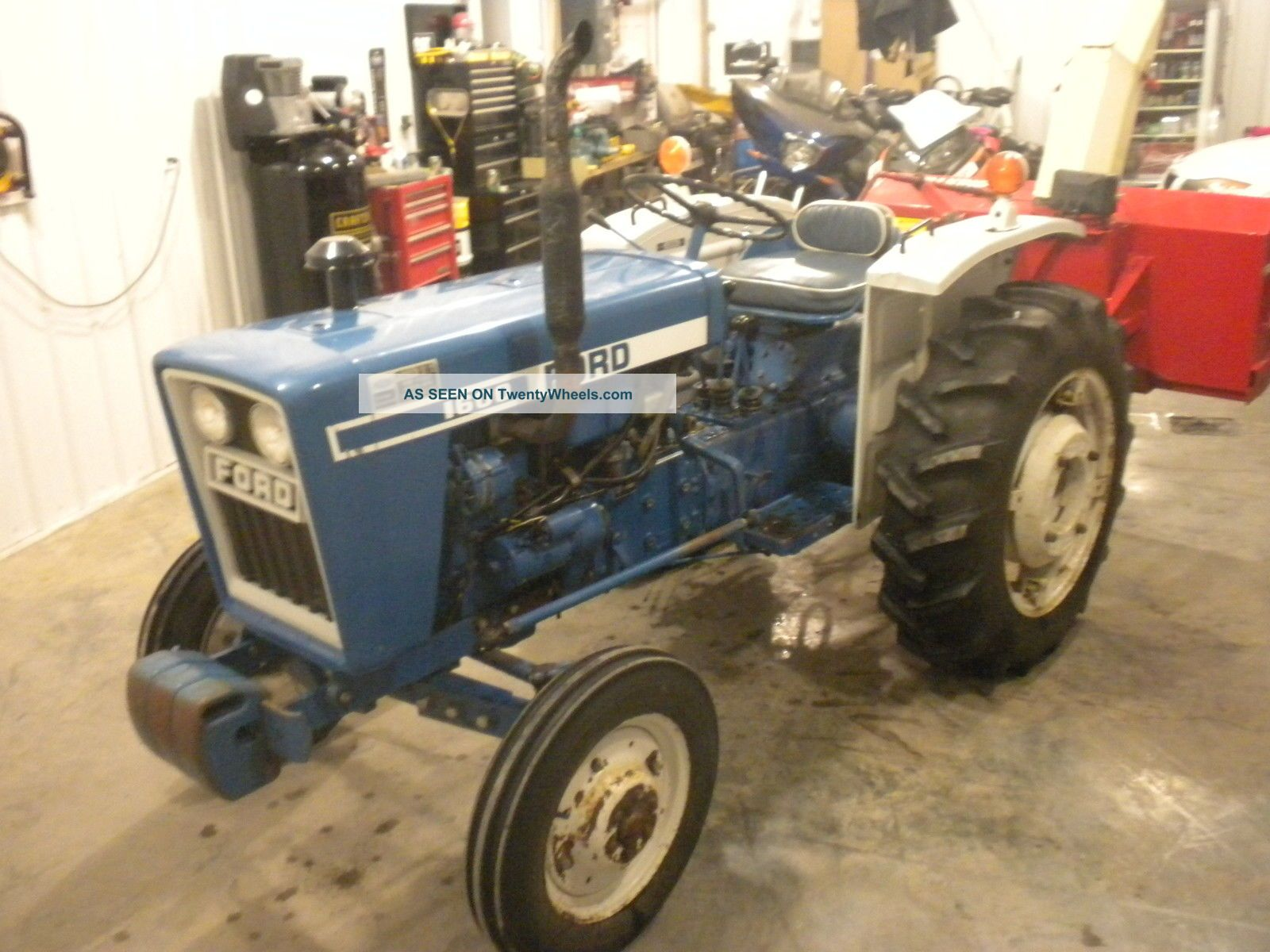 Ford Farm Tractors Tractor With 5ft Farm King