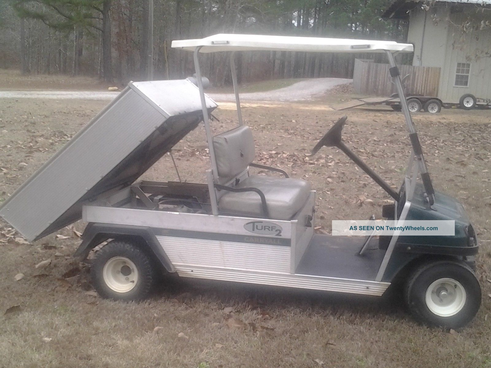 Diy Mower Dump Cart besides Northwood Rvs For Sale In Nokomis Florida in addition ka railers co also Trailer Drawing additionally Ez Dumper Trailer Wiring Diagram. on golf cart dump trailers