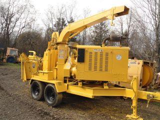 Bandit 280 Hd Chipper Caterpillar Turbo Diesel Wood Tree Crush Cylinder Auto photo