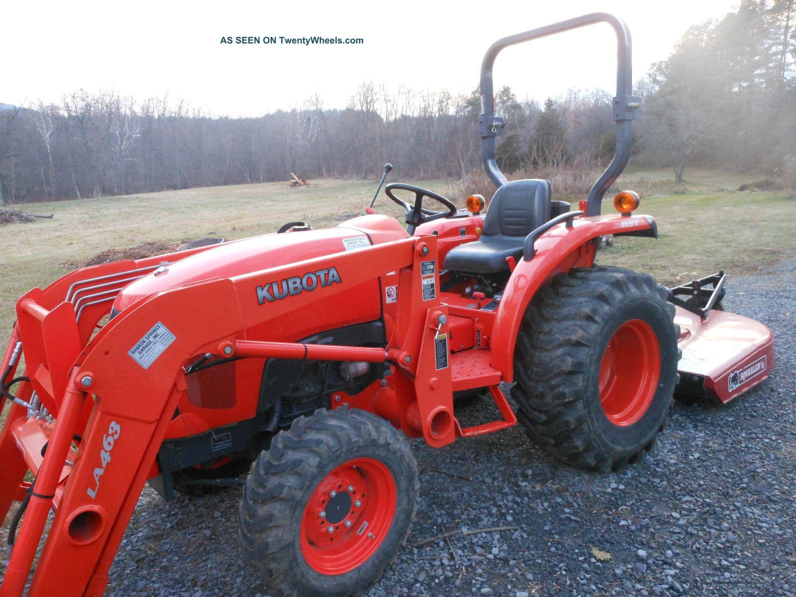 2011 Kubota Tractor L3800 Hst W  La 524 Loader