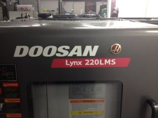 2013 Doosan Lynx 220lmsc Cnc Live Tool Sub Spindle Lathe Turning Center Fanuc photo