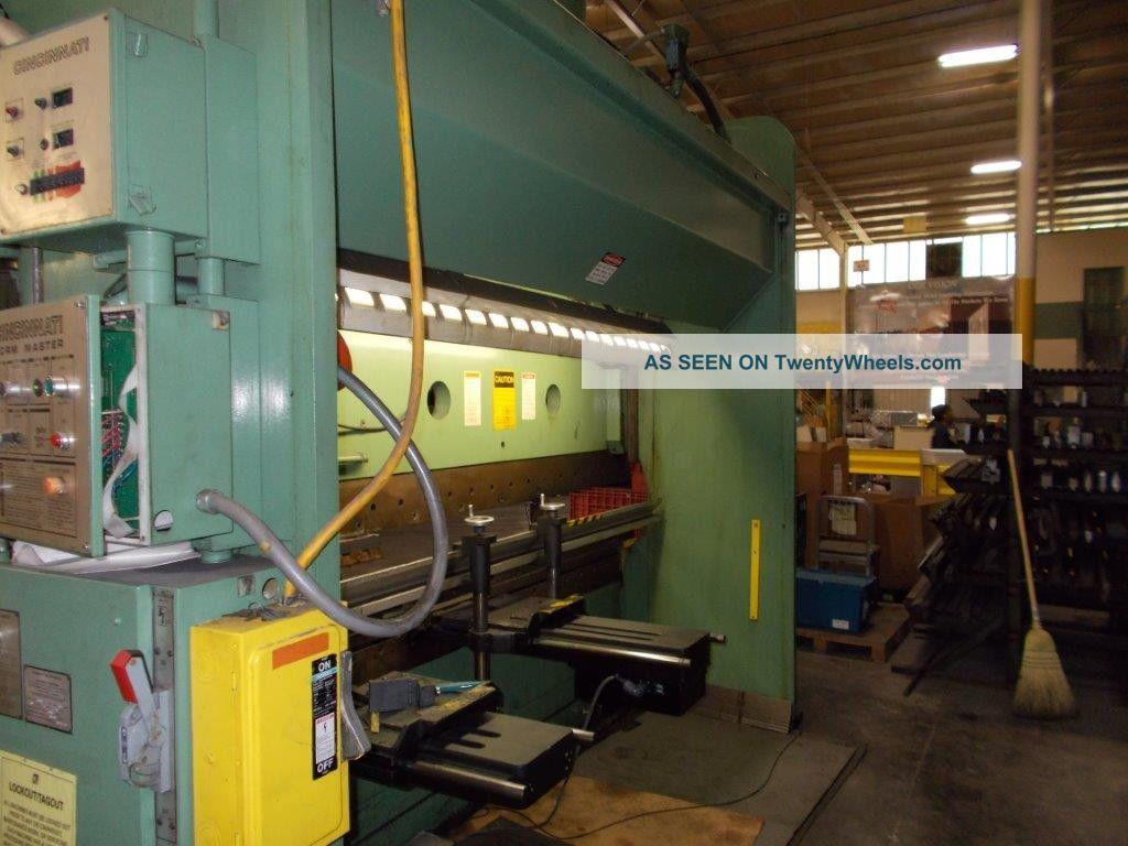 Cincinnati Fm 175 Ton X 12 ' Hydraulic Cnc Press Brake Back