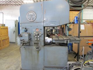 Do - All Profile Band Saw Model 26 - 3,  460 Volt 3 Phase photo