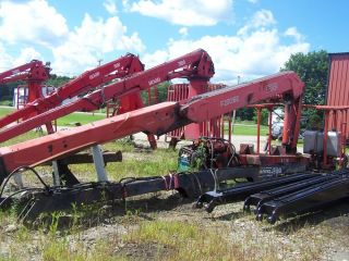 2001 Fassi F230se Crane Riding Console Extenda Boom Material Handler photo