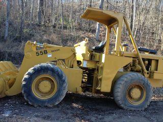 Michigan Clark 55b Rubber Tire Loader photo