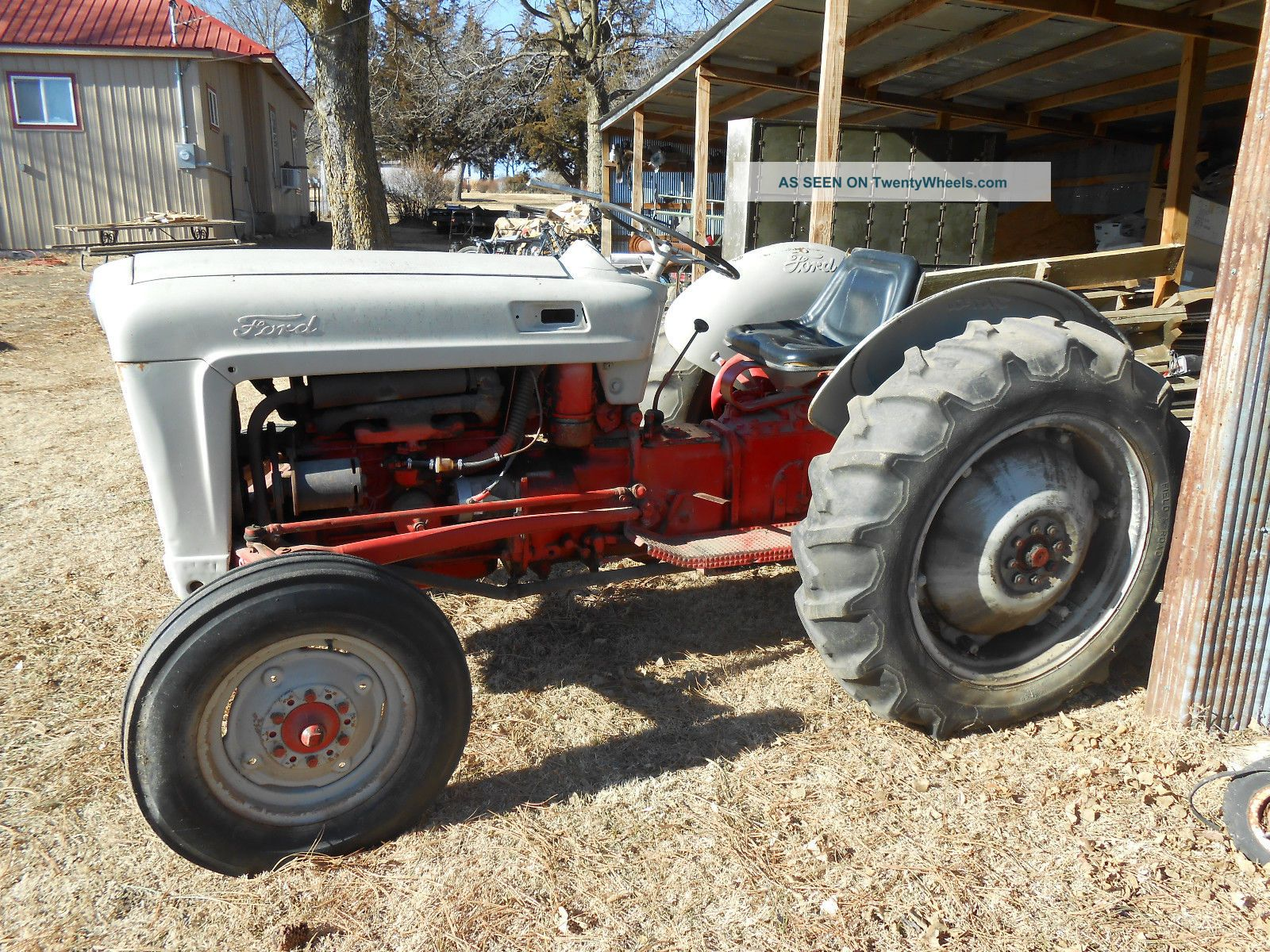 Ford Jubilee Specifications : Ford jubilee tractor specs