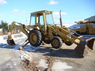 Ford 555b Backhoe - Great Running Machine photo