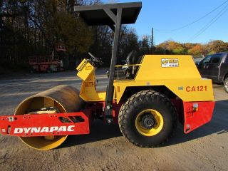 Dynapac Ca121d Smooth Drum Roller photo