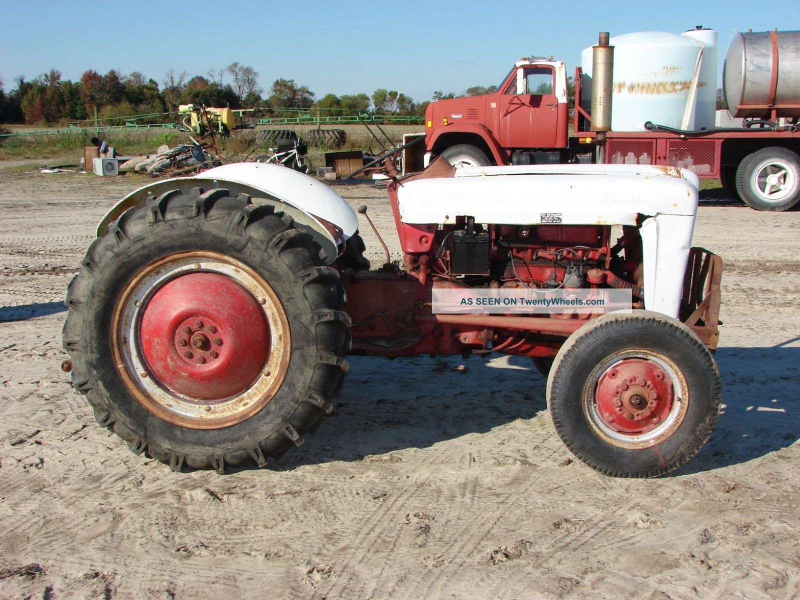 Ford Jubilee Parts : Ford jubilee tractor data