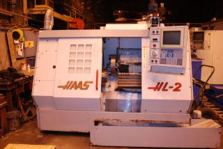 1995 Haas Hl - 2 Cnc Lathe Turning Center - Loading photo