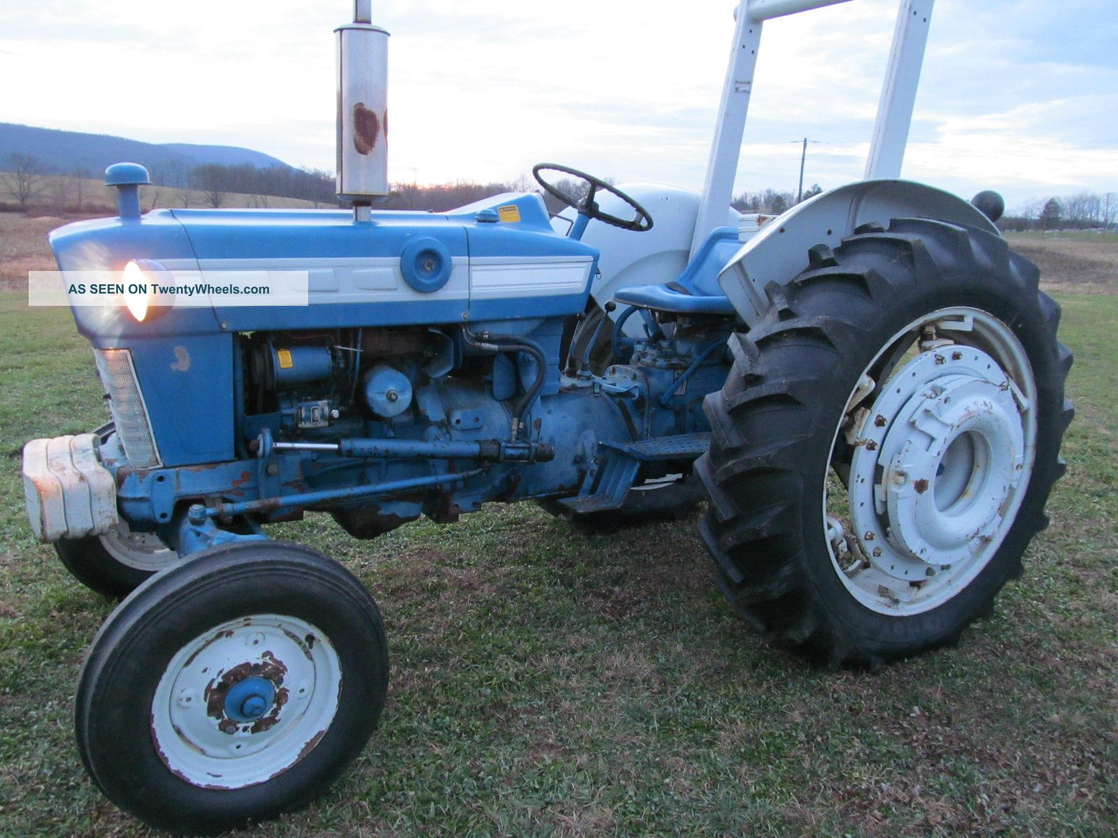 1965 White 4000 Semi Tractor : Ford tractor hp gas tires live pto