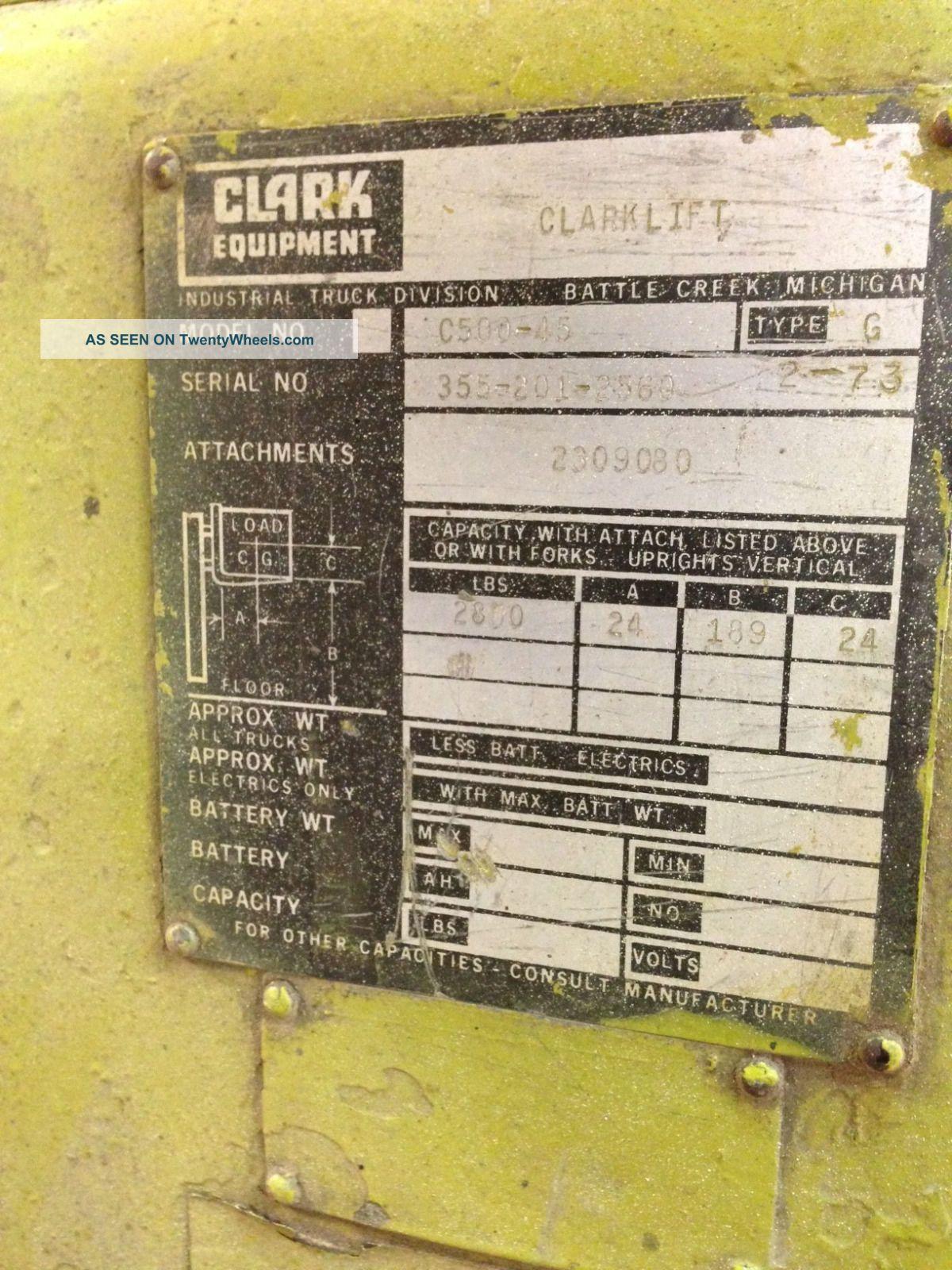 Clark C500 45