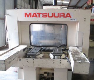 Matsuura Mc - 600h - 45 Cnc Horizontal Machining Center photo