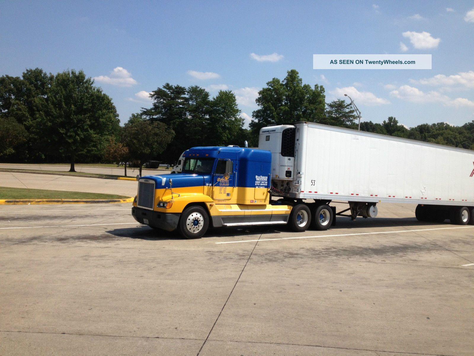 Fld 120 Freightliner Semi Truck : Freightliner fld