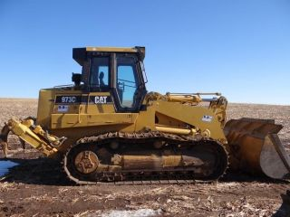 Caterpillar,  973c Lgp,  Crawl Loader,  Gp Bkt,  3600 Hrs,  26 1/2 Inch Shoes,  Ripper photo