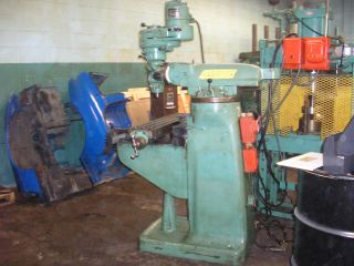 Bridgeport Milling Machine J Head 42