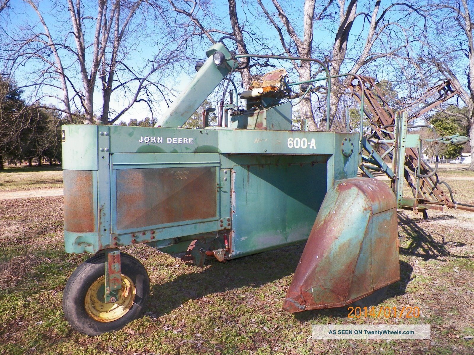 Old John sprayer conversion kit? - John Deere Forum - Yesterday's Tractors