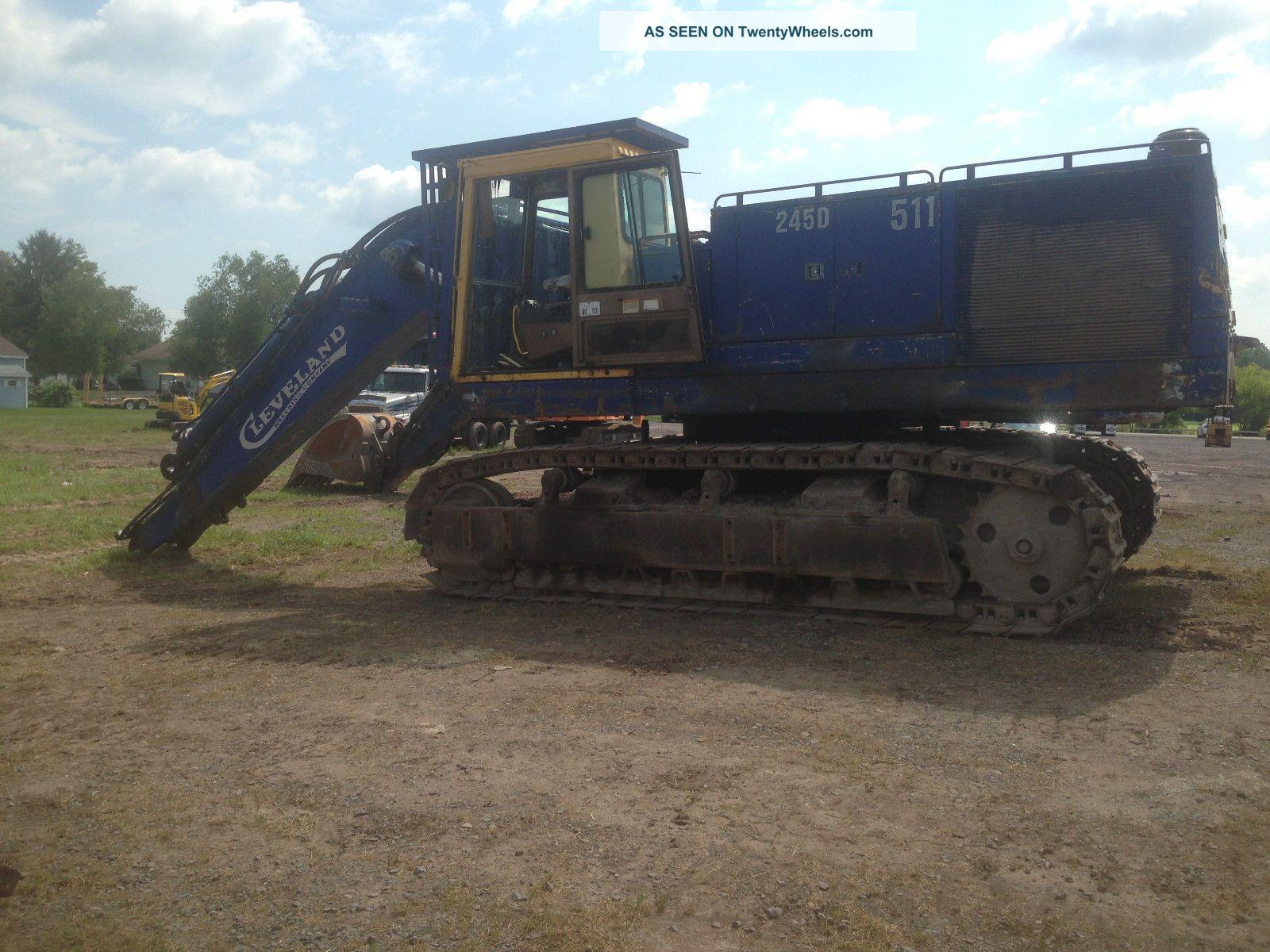 John Deere 245 Excavator Specs : Cat d excavator