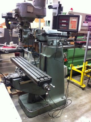 Bridgeport Mill,  Series I,  2 Hp,  Vertical Knee With Digital Readout photo