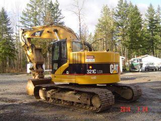 2005 Caterpillar 321clcr Excavator Hyd Thumb & Q/c photo
