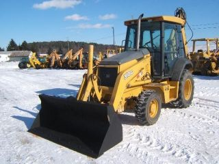 John Deere 310g Farm Backhoe photo