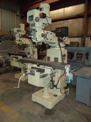 First Model Lc - 185vsx,  Vertical Knee Type Milling Machine,  Dro,  Power Feed photo